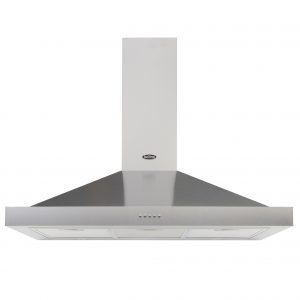 BELLING CHIMNEY HOOD 100CM S STEEL