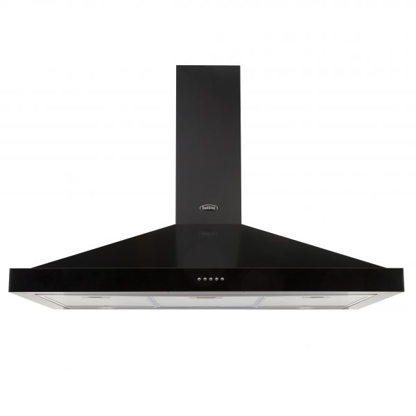 BELLING CHIMNEY HOOD 100CM BLACK