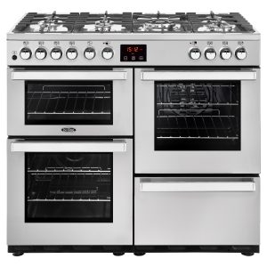 BELLING 100CM DUAL FUEL COOKCENTRE SS