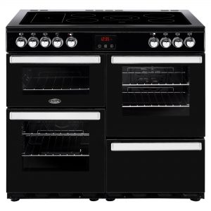 BELLING 100CM ELECTRIC COOKCENTRE BK