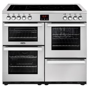 BELLING 100CM ELECTRIC COOKCENTRE SS