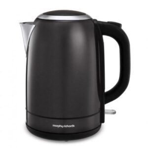 Morphy Richards Equip 1.5 litre Kettle – Metallic Black – 102780