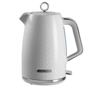 Morphy Richards Verve Textured 1.7 Litre Kettle – White – 103012