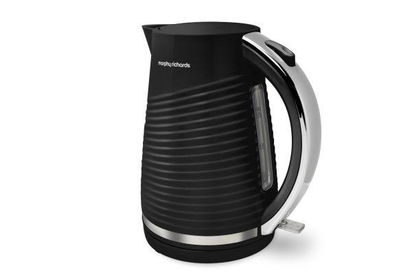 MR Dune Premium Patterned Kettle Black 1.5 litre