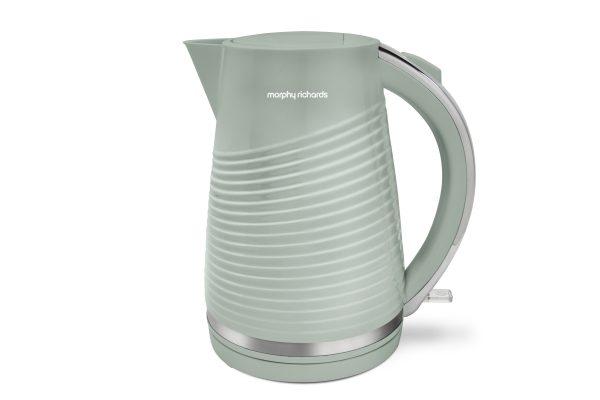 MR Dune Premium Patterned Kettle Sage Green 1.5 litre