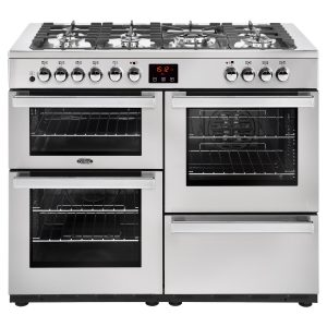 BELLING 110CM DUAL FUEL COOKCENTRE SS