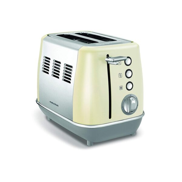 Morphy Richards Evoke 2 Slice Toaster – 224407 – Cream