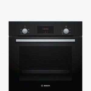 Bosch Serie | 2, Built-in oven, 60 cm, Black