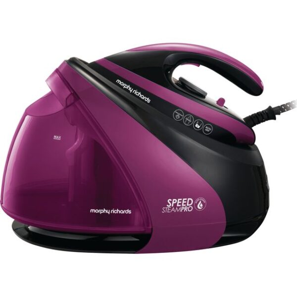 Morphy Richards Speed Steam Black/Purple – 332102