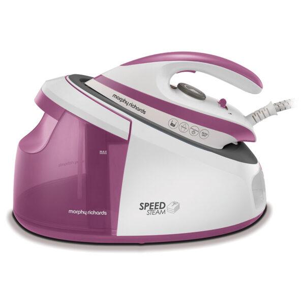 Morphy Richards Speed Steam  White/Pink – 333201
