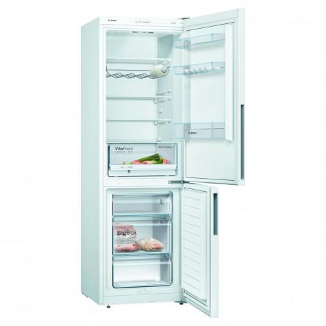 Bosch Serie 4, Free-standing Fridge-Freezer 186 x 60 cm, White – KGV36VWEAG