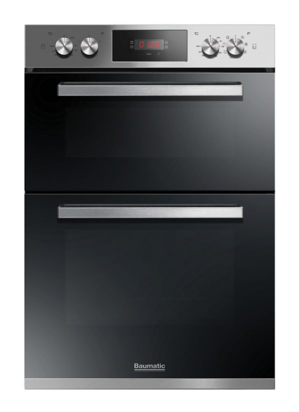 Baumatic BODM984X 90cm Built In Electric Double Oven
