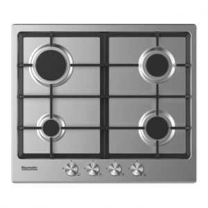 Baumatic BHIG620X 4 Burner Gas Hob