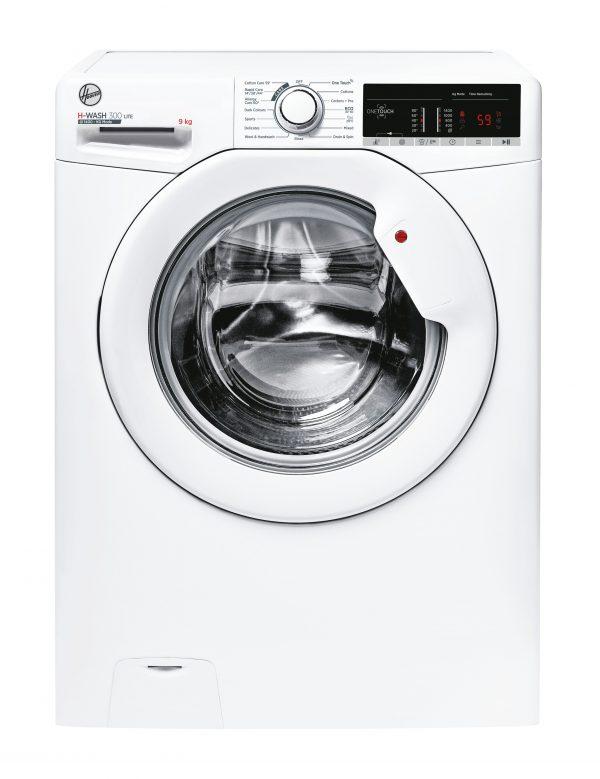 Hoover H3W49TE H-WASH 300 9kg 1400 Spin Freestanding Washing Machine