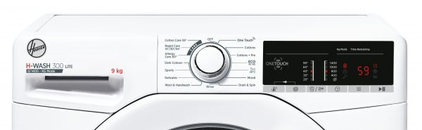 Hoover H-Wash 300 9kg 1400 Spin Freestanding Washing Machine – H3W49TE-80