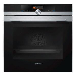 Siemens iQ700, Built-in oven, 60 cm, Stainless steel – HB676GBS6B