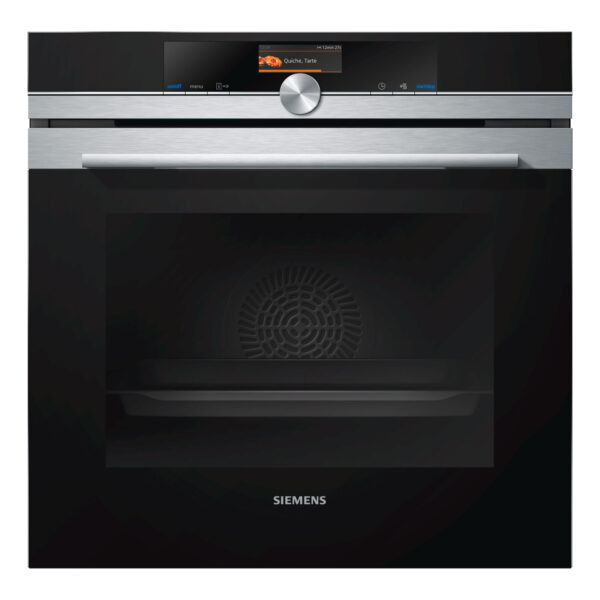 Siemens iQ700, Built-in oven, 60 cm, Stainless steel – HB676GBS6B