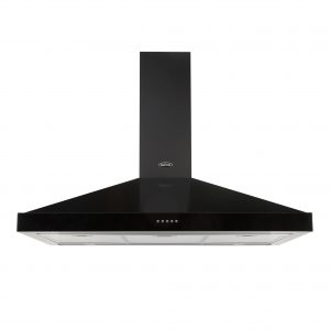 BELLING CHIMNEY HOOD 90CM BLACK