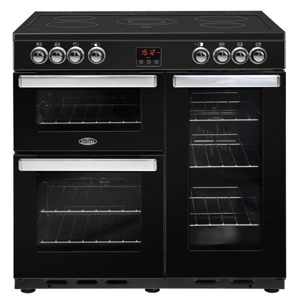 BELLING COOKCENTRE 90CM ALL ELECTRIC BLK