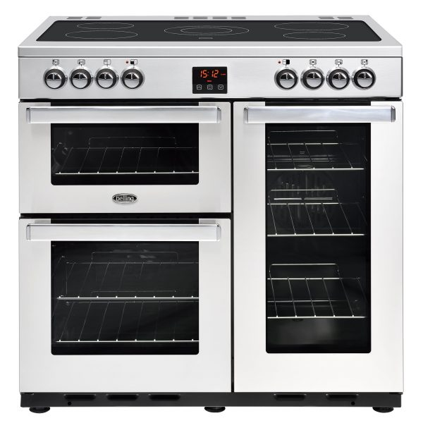 BELLING COOKCENTRE 90CM ALL ELECTRIC SS