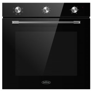 BELLING SINGLE FAN OVEN BLACK