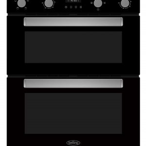 BELLING BLACK UC DOUBLE OVEN