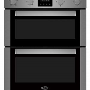 BELLING STAINLESS STEEL UC DOUBLE OVEN