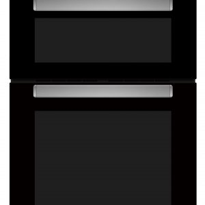 BELLING BLACK DOUBLE OVEN
