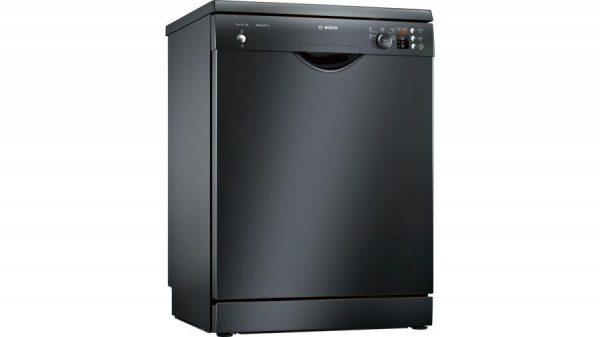 Bosch Serie | 2, free-standing dishwasher, 60 cm, Black