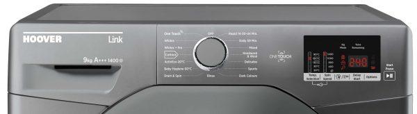 Hoover DHL1492DR3R Link 9kg 1400 Spin Freestanding Washing Machine Silver