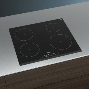Siemens iQ100, Induction Cooktop, 60 cm, Black EU631FEB1E