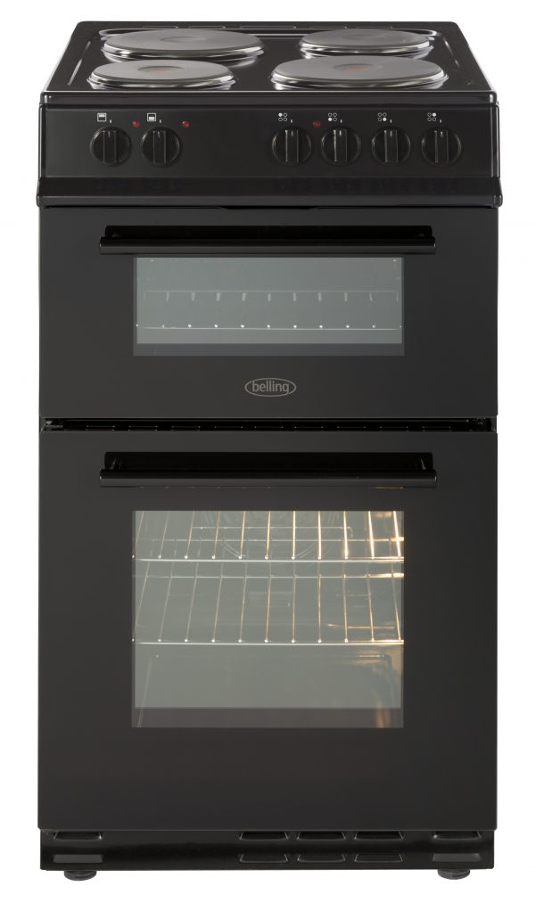 BELLING 50CM DOUBLE ELEC F/S COOKER