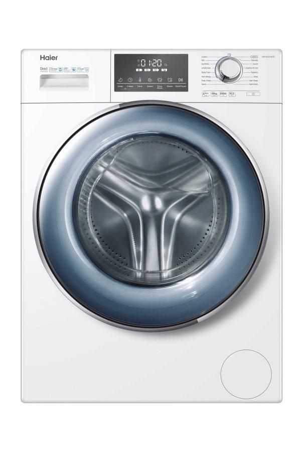Haier HW100-B14876 10kg 1400rpm Freestanding Washing Machine with Direct Motion Motor
