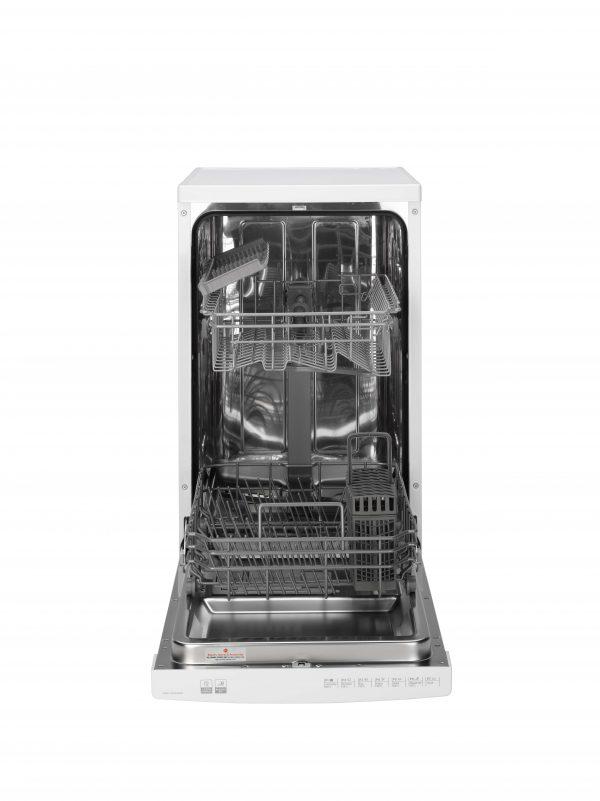 Hoover Slimline 10 Place Setting Freestanding Dishwasher – HDPH2D1049W-80