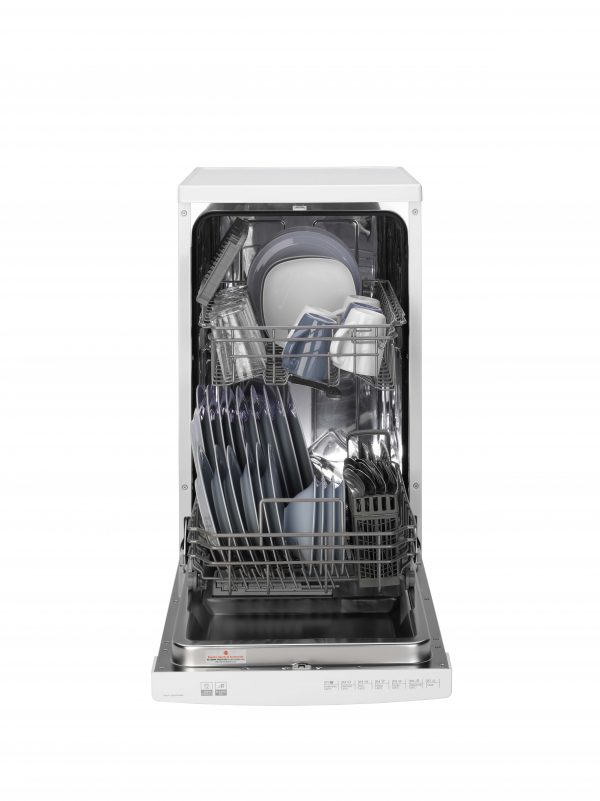 Hoover HDP 2D1049W Slimline 10 Place Setting Freestanding Dishwasher