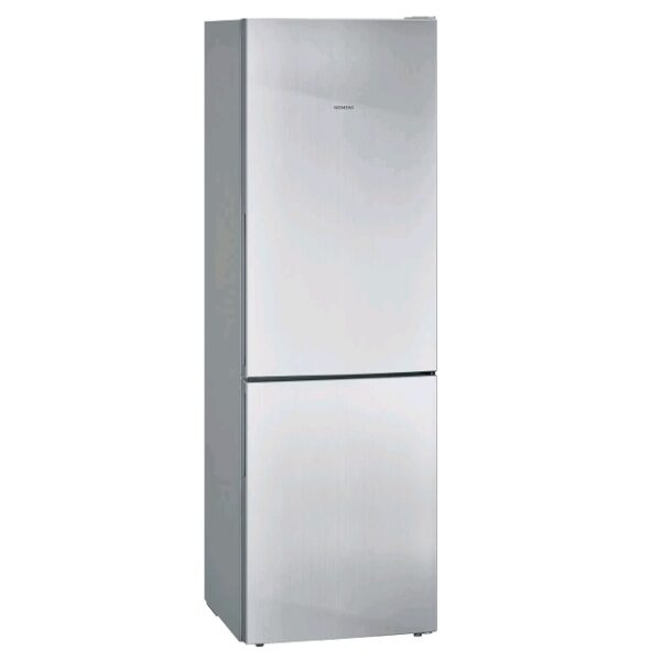 Siemens iQ300, Free-standing fridge-freezer with freezer at bottom, 186 x 60 cm, Inox-easyclean KG36VVIEA