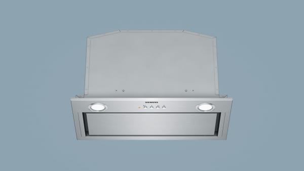 Siemens iQ500, canopy cooker hood, 70 cm, Stainless steel LB78574GB