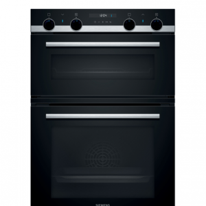 Siemens iQ500 Built-in double oven 60 cm Stainless steel MB557G5S0B