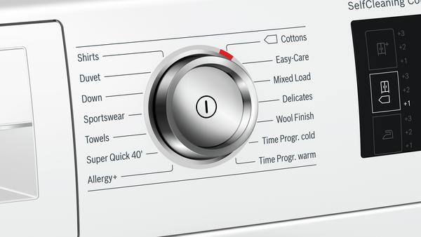 Bosch Serie 6, Heat pump tumble dryer, 9 kg – WTWH7660GB