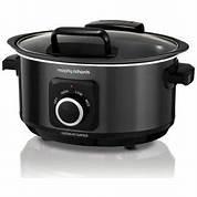 Morphy Richards Slow Cooker 6.5L Manual Sear Stew Black – 461020