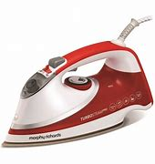 Morphy Richards Turbosteam Pro Pearl Ceramic Steam Iron – Red – 03124