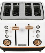 Morphy Richards Evoke Special Edition 4 Slice Toaster Rose Gold and White – 240115
