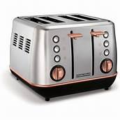 Evoke Rose Gold and Brushed Special Edition 4 Slice Toaster – 240116