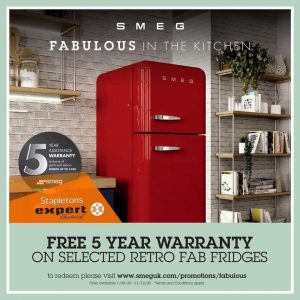SMEG Retro Fab Fridges
