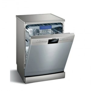 Siemens iQ300, Free-standing dishwasher, 60 cm, Stainless steel, SN236I03MG