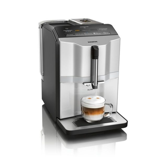 Siemens Fully automatic coffee machine, EQ.300, TI353201GB Silver
