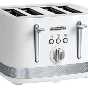 Morphy Richards Illumination 4 Slice Toaster – 248021 – White