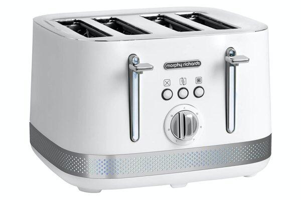 Morphy Richards Illumination 4 Slice Toaster – 248021 – White
