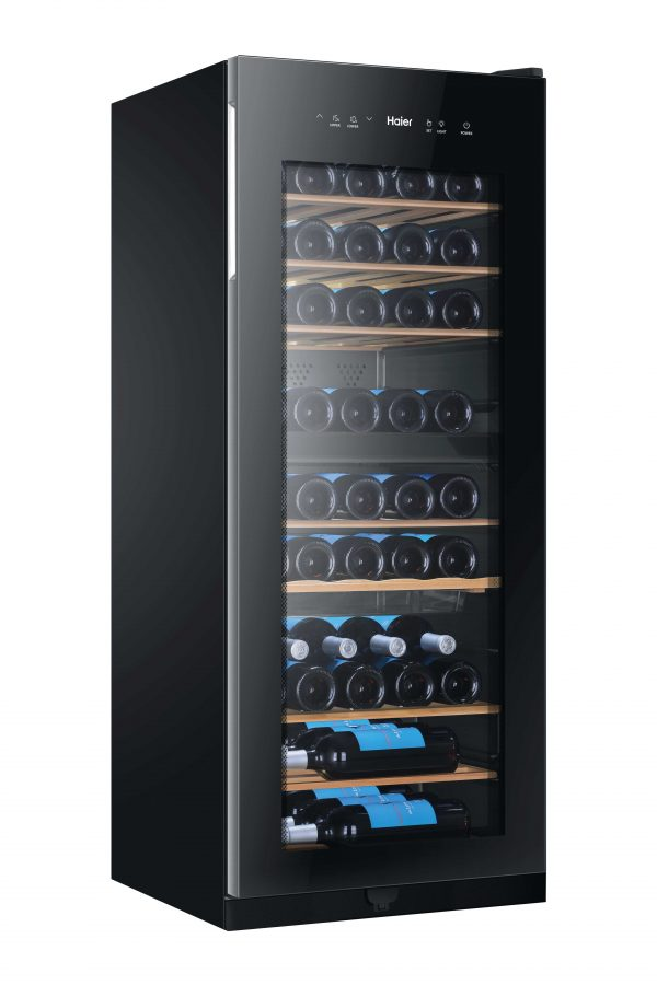 Haier WS53GDA Dual Zone Wine Cooler A+ – Black