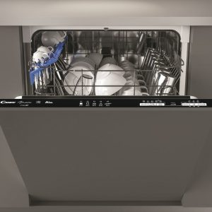 Candy CB13L8B Full Sized 13 Place Setting Integrated Dishwasher